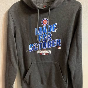 Majestic Chicago Cubs Playoff hoodie